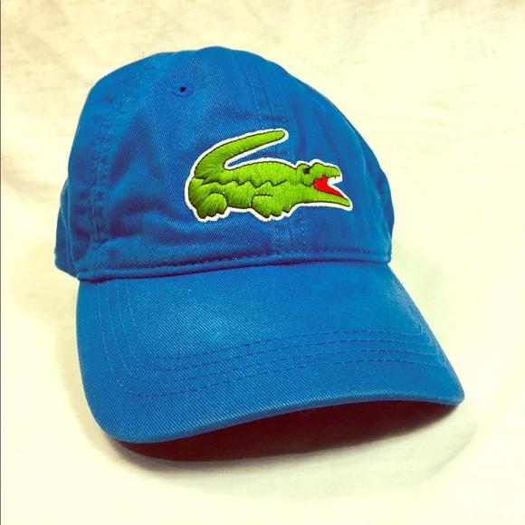 ad359d698b Lacoste men's big croc gabardine cap hat